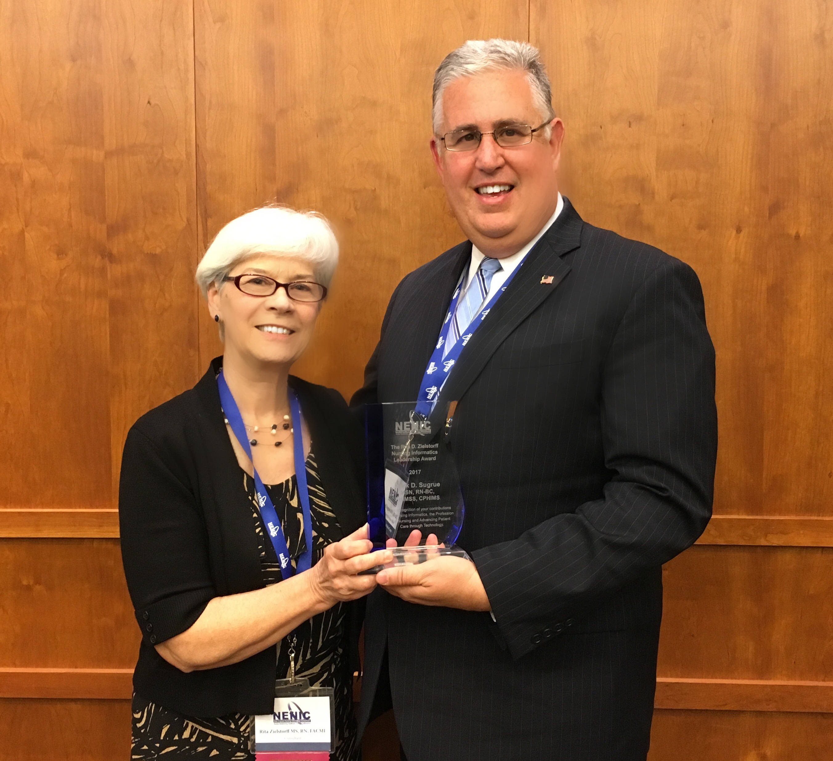 2017 Rita D Zielstorff Nursing Informatics Leadership Award